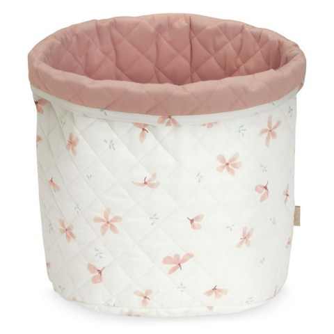 Quilted Storage Basket Medium_p62 Windflower Cremeh (Copy)